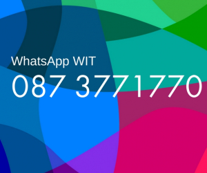 Ask WIT: CAO WhatsApp