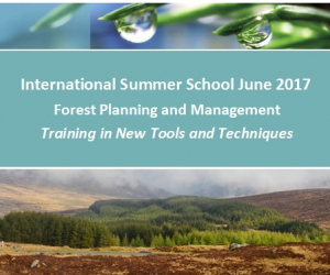 Forest Planning and management Summer School at WIT