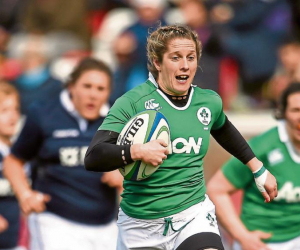 'Sharing the Battle' with Irish rugby star and WIT graduate Alison Miller.