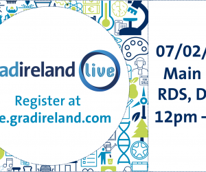Invest in yourself and be inspired at gradireland Live!