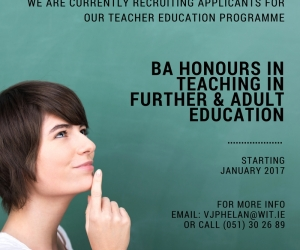 Want to gain a teacher education qualification in Further Education?