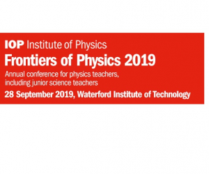 Frontiers of Physics 2019