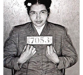 Rosa Parks and the Montgomery Bus Boycott exhibition