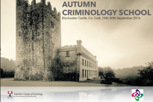 Autumn Criminology School 2016