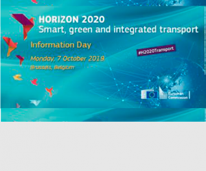 2019 Horizon 2020 Transport Information day and Brokerage event