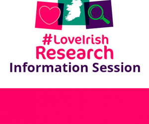 IRC Government of Ireland Scholarship information session