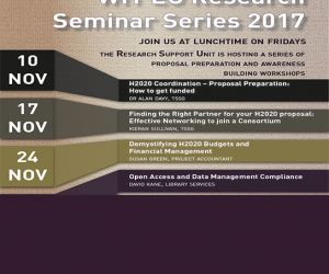 WIT EU Research Seminar Series 2017 #3