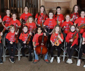 Budding Bows & Concert Strings Concert