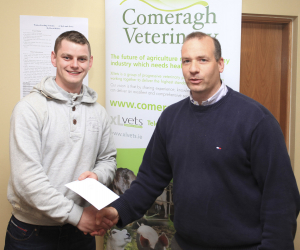 Comeragh Vets Final Year Project Poster Award for BSc in Agriculture students