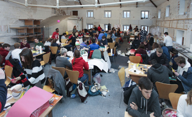 In Pictures: Second level students try architecture at WIT