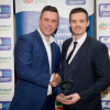The awards were accepted on behalf of the WIT Arena by Aaron Grant Arena Gym and Membership Manager (pictured right)