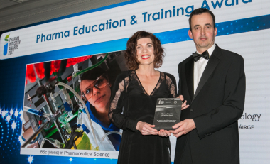 Waterford scientists scoop two awards at the Pharma Industry Awards 2017
