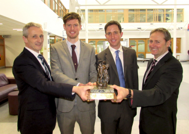 Engineers Week: CIOB win for WIT School of Engineering students