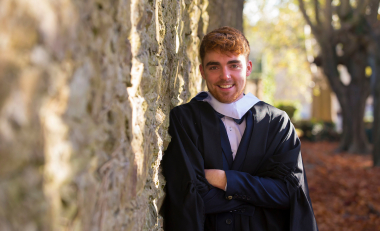 Graduate John considers the Agriculture course best in Ireland