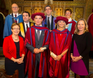 First PhD graduates from AIB Centre for Finance and Business Research at WIT