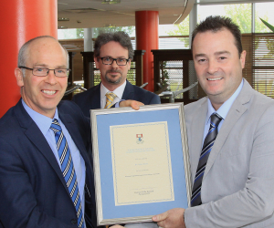 Dr Aidan Duane wins 2017 Excellence in Postgraduate Supervision Award