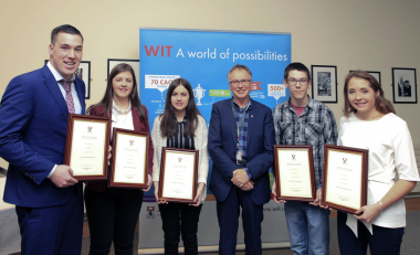 Inaugural undergraduate President's Scholarships awarded at WIT