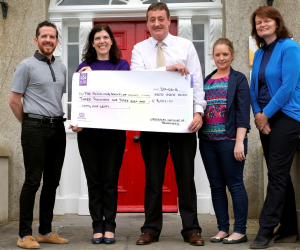 Staff and students raise €3,000 at WIT Alzheimer's Tea Day