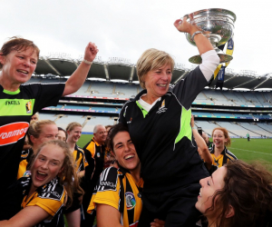 'I had four great years at WIT' - camogie legend and coach Ann Downey