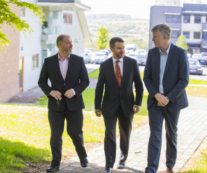 Australian ambassador visits WIT research and innovation centre ArcLabs