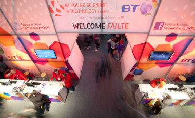 Waterford Science Region stand for BT Young Scientist & Technology Exhibition