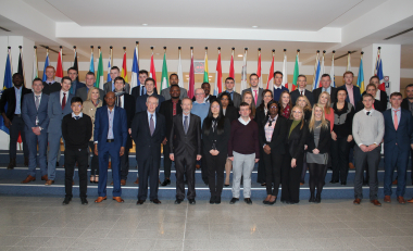 MBS trip puts students at heart of EU decision making
