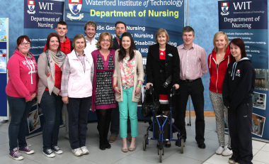 Carer inspires health care students
