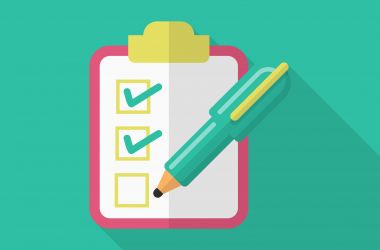 The confirm your CAO choices checklist