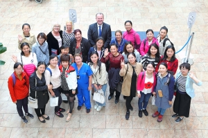 Chinese nursing delegation visit Waterford's world-class facilities