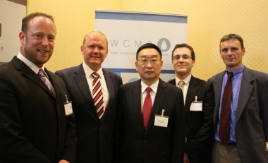 WCMS Team Meets Chinese Minister for Water Resources
