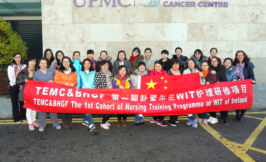 Chinese nurses welcomed by WIT to explore Irish health care