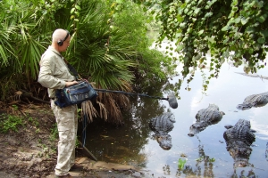 David Attenborough's Sound Recordist on the Microphone in Waterford