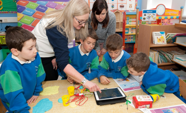 WIT brings coding alive for all 200 children in Gaelscoil Phort Láirge
