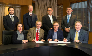 Construction contract signed for completion of sports facilities