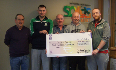 Electronic Engineering Students Raise Funds for Solas Centre