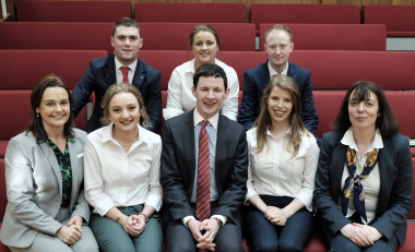 WIT Agricultural and Food Science students take on UCD in Agri-food debate in UCD debating chambers