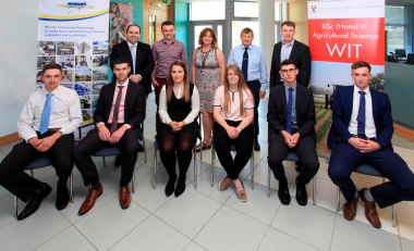 Tipp students are cream of the crop at Dairymaster Ag Science awards