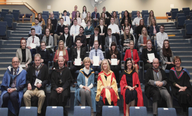 Academic achievement highlighted at School of Business Recognition awards 2019