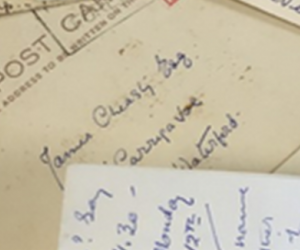 Letters from the Margins: James Cheasty Archive Project