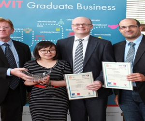 Outstanding Student Awards presented to Double Degree students at WIT