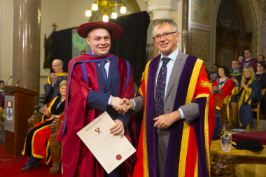 Industry-funded PhD gave Dr Seán Roche insight into collaboration of industry and academia