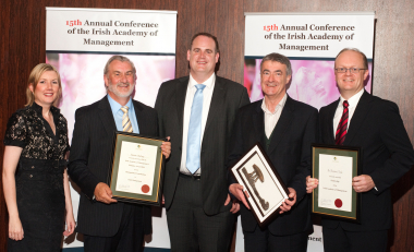 Dr. Thomas O'Toole made Fellow of the Irish Academy of Management