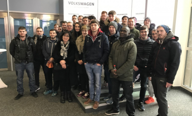 Engineering students students enjoy educational field trip overseas