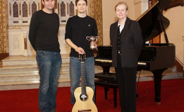 Student wins Senior Classical Guitar Competition at Feis Ceoil