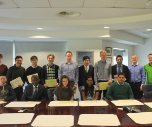 GFIS masters students complete Workshop Series at the State Street