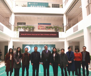 Teaching visit to Zheng Zhou University of Light Industry, China