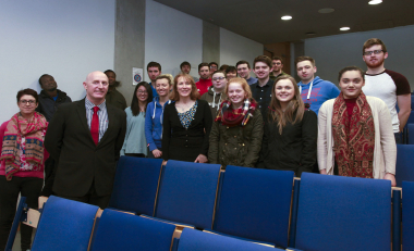 Students given insight into forensic accounting as a career
