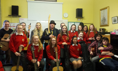 Local sixth years supported by WIT Music staff and students