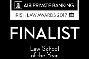 Law faculty at WIT nominated for AIB Law School of the Year