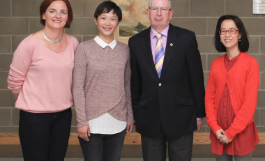 WIT welcomes a visiting scholar from Shanghai Institute of Tourism